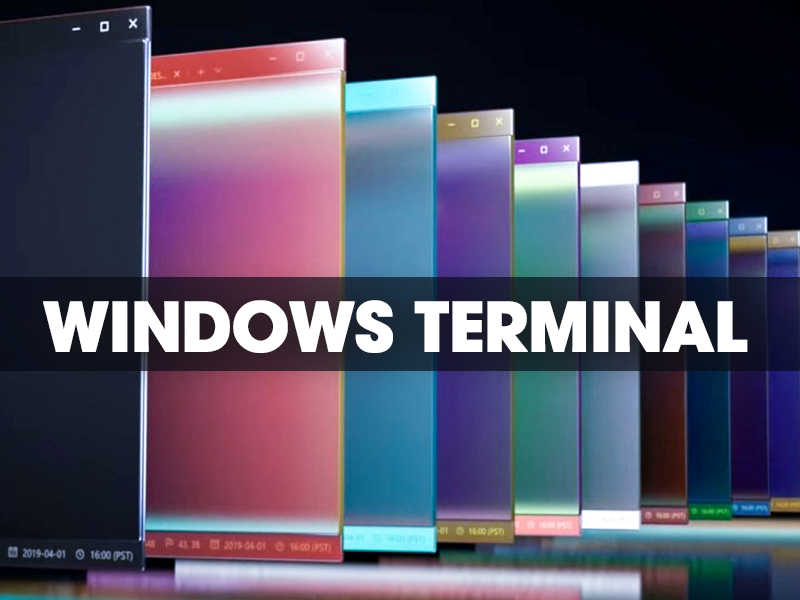 Microsoft officially launched the new Windows Terminal command line application for Windows 10