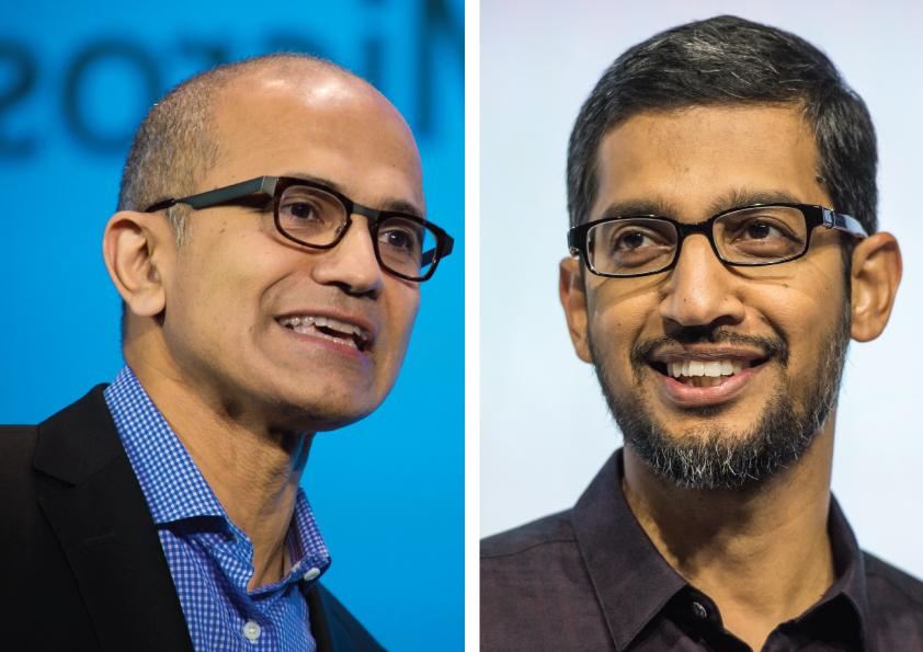 CEO Microsoft VS CEO Google: Lãnh đạo nào thực sự giỏi hơn?