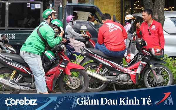 """GrabBike và GoBike cùng thông báo dừng hoạt động tại Hà Nội đến hết thời gian """"cách ly toàn xã hội"""""""